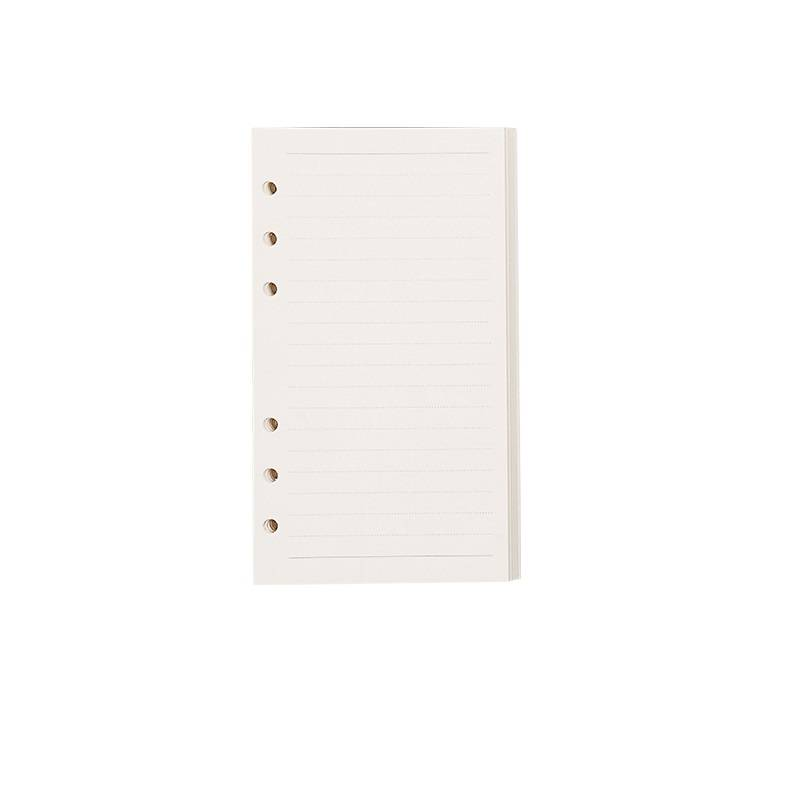 A6 Loose-leaf Ruled Notebook Refill