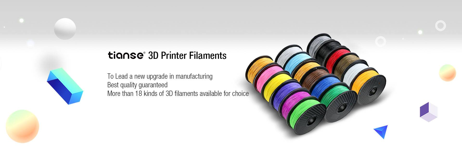 3D Printer Filament Banner