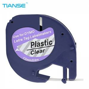 Dymo Compatible Capable Letratag Label Tape 12267