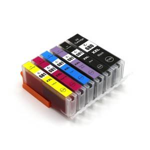 Rehefa Jerena PGBK Ink Cartridge PGI680XXL for Canon Printer PIXMA / TR8560 / TS6160 / TS8160 / TS9160