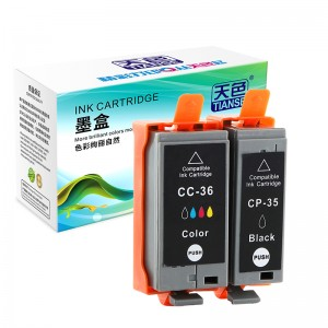 Compatible K / C / M / N Ink Cartridge PGI35 / CLI36 Printer enim Canon PIXMA / IP-C / CX