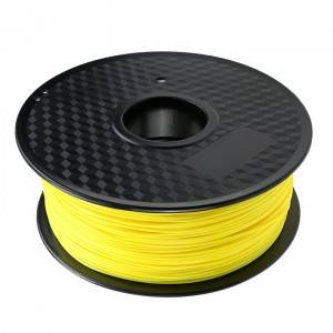 PLA 3D Printing Filament (Fluorescent Yellow)