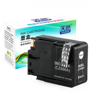 Compatible K Cartridge 960XL bo HP Li ser kaxezê OFFICEJET / refaqetê / 3610/3620