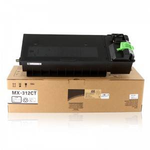 Socon Black Copier Toner MX312CT for Sharp Copier MXM261 / M261N / M311 / M311N / 2628L / M2608N / M3108N / M3508N / M2608U /