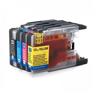 Compatible CMY Ink Cartridge LC400 bo Brother MFC-J6910CDW Li ser kaxezê J6710CDW J840N