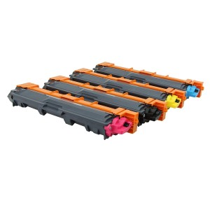 Compatible CMY Cartouche de toner TN241 pour imprimante Brother HL3150 / 3170 / DCP9020 / MFC9340 / 9140