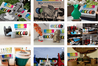 Top 10 3D Prints Selected in TIANSE 3D Printing Contest