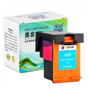 Compatible CMY Ink Cartridge 858XL for HP Printer HP DESKJET/ 460/ CB