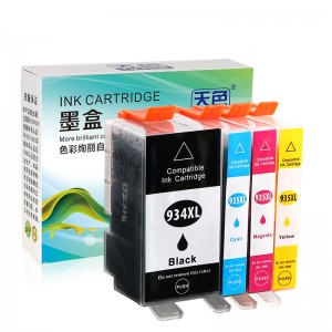Savietojams K / C / M / Y Ink Cartridge 934XL / 935XL HP Printer HP OFFICEJET / pro / 6830 / E-ALL-IN-ONE / OFFICEJET / PRO- / 6230