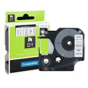 Dymo Compatible Capable Letratag Label 45013 Tape