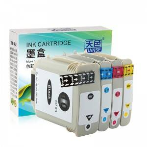 Compatible K / C / M / Y Cartridge H10 / 11 ji bo HP Li ser kaxezê OFFICEJET / 9110/9120/9130 /