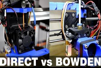 Direct vs Bowden Extruder – Pros and Cons of Direct and Bowden Extrusion