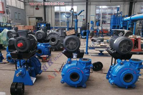 6×4 slurry pumps