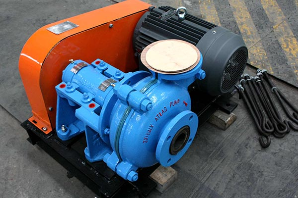 Low Cost Slurry Pump 2×1.5B-WX Heavy Duty Slurry Pump – Tiiec detail pictures