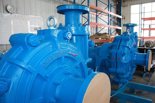 Submersible Sand Slurry Pump ATLAS 100 SPH MEDIUM DUTY HIGH HEAD SLURRY PUMP – Tiiec detail pictures