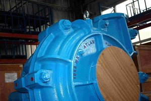 10 × 8F-WX Heavy Duty Slurry Pump
