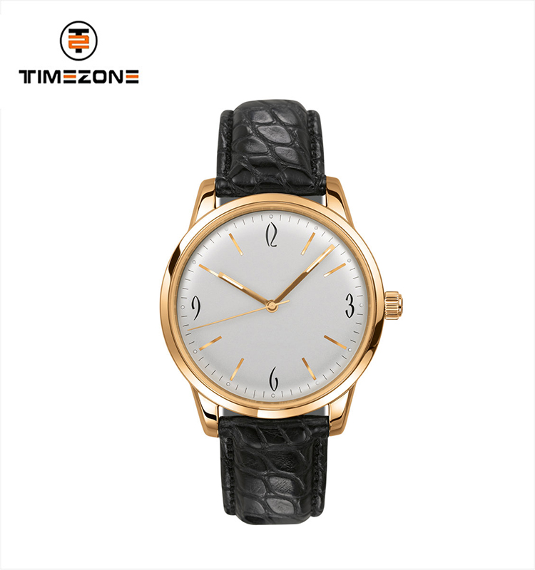 2019 mens watches brand your own luxury leather strap private label watch