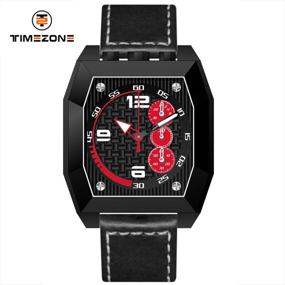 Timepiece custom brand quartz watch pilot multifunction unique watches
