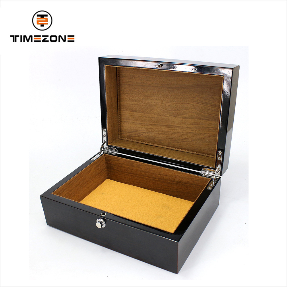 Custom logo wood packaging wholesale Watch box
