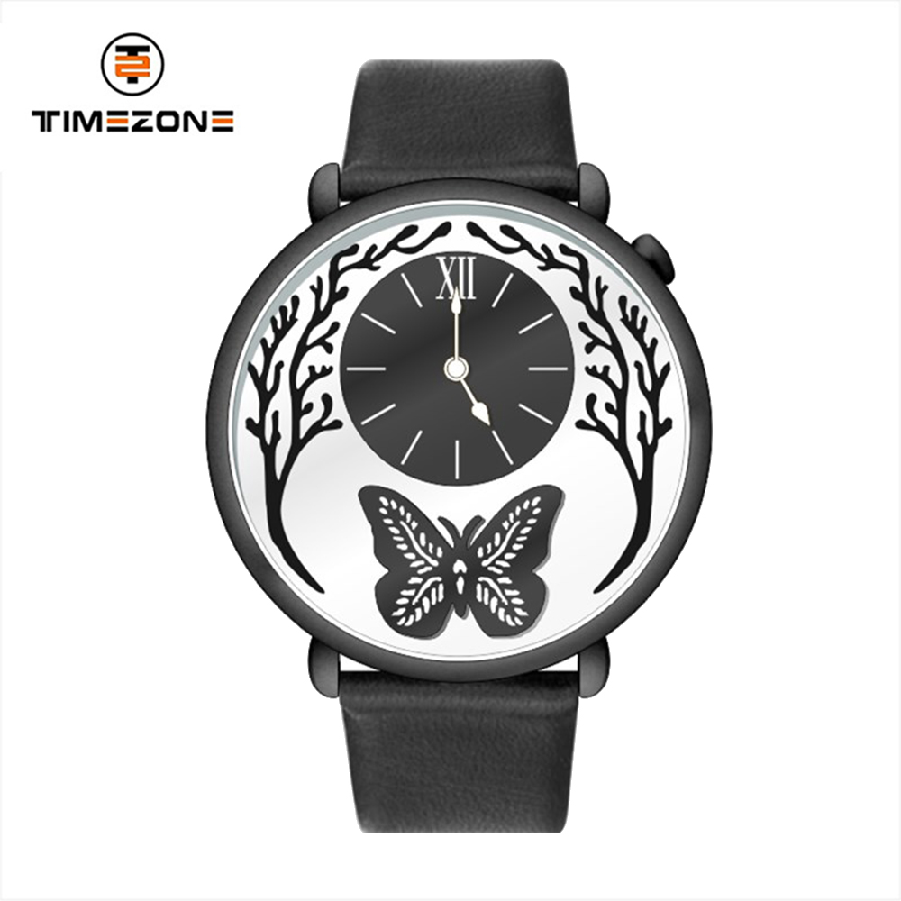 exquisite custom logo stainless steel women watch