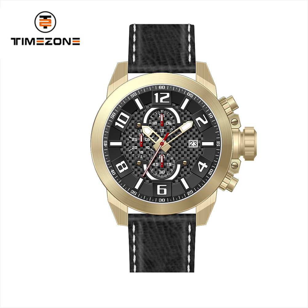OEM ODM Waterproof Watches Men multifunction sport and pilot Watches with factory price