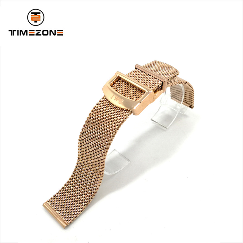 2019 gaas strap 20mm folding buckle RVS watch accessoires