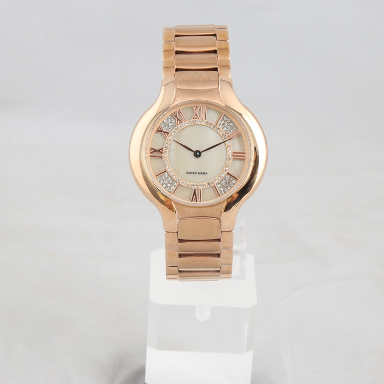 Wholesale stainless steel watches 10 atm classic quartz watch with roman numerals