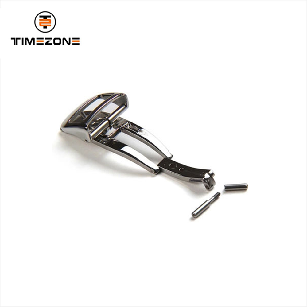 16mm 18mm stainless steel polished folding bow buckle special buckle