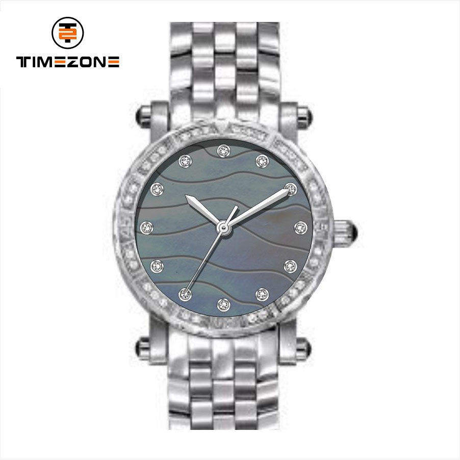 2019 stainless steel sapphire crystal MOP dial ladies Automatic chain wrist watches