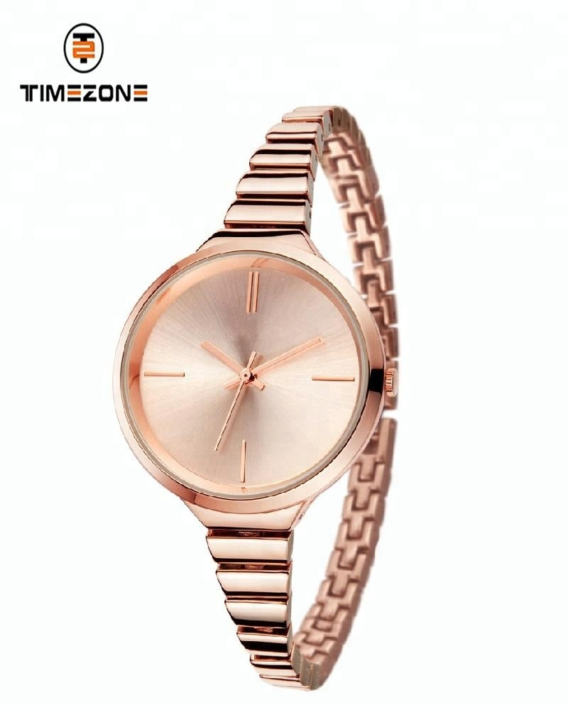 stainless steel 316 Lady rose gold plating Wrist Watch