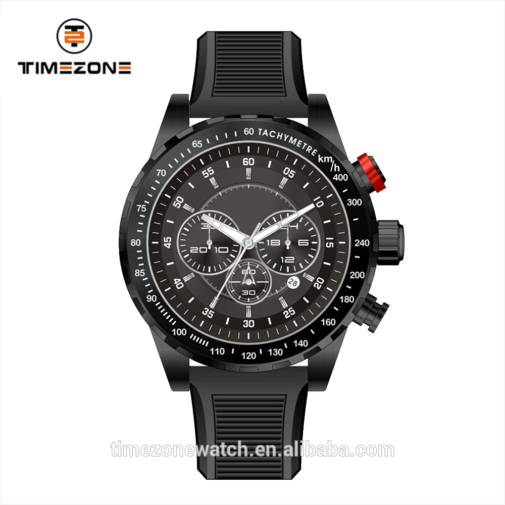 Timezone watches oem brand color focus quartz polit army vintage design watches