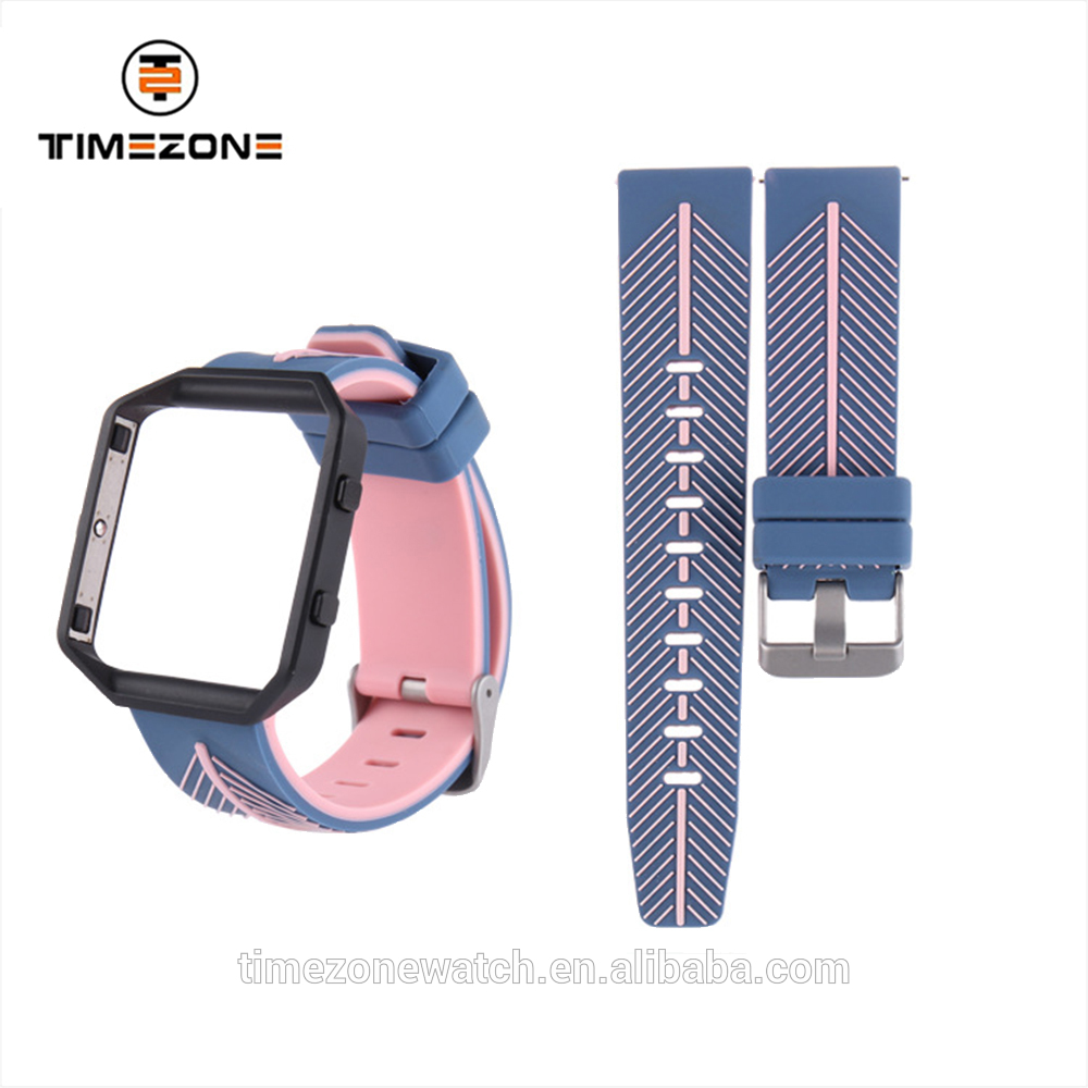 Hot Selling Sports Strap Silicone Band Rubber Wristwatch For Smart Watch Featured Image