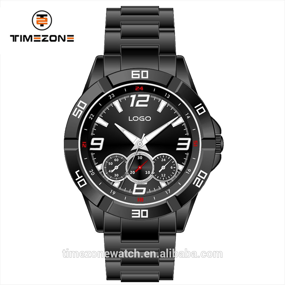 New design magnetic solid bracelet 10 atm waterproof all stainless steel quartz sport wristwatch