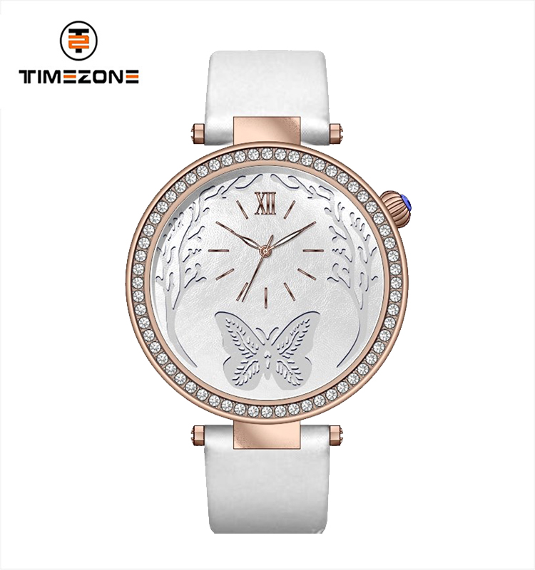TIMEZONE Luxury Women Wrist Watches 18039L