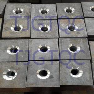 Anchor Plate for Hot Rolled Threaded Bar