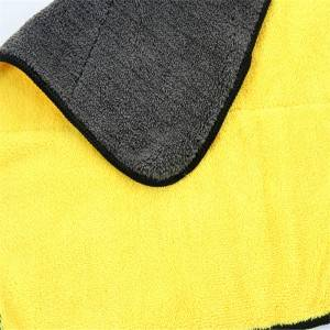 Microfiber Washing Drying Towel Strong Thick Fiber Car Cleaning Cloth CT-01