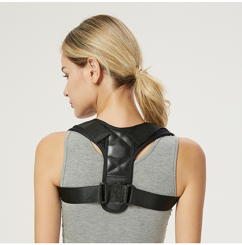 Adjustable Spine Back Shoulder Lumbar Brace Posture Corrector Back Belt PC-03