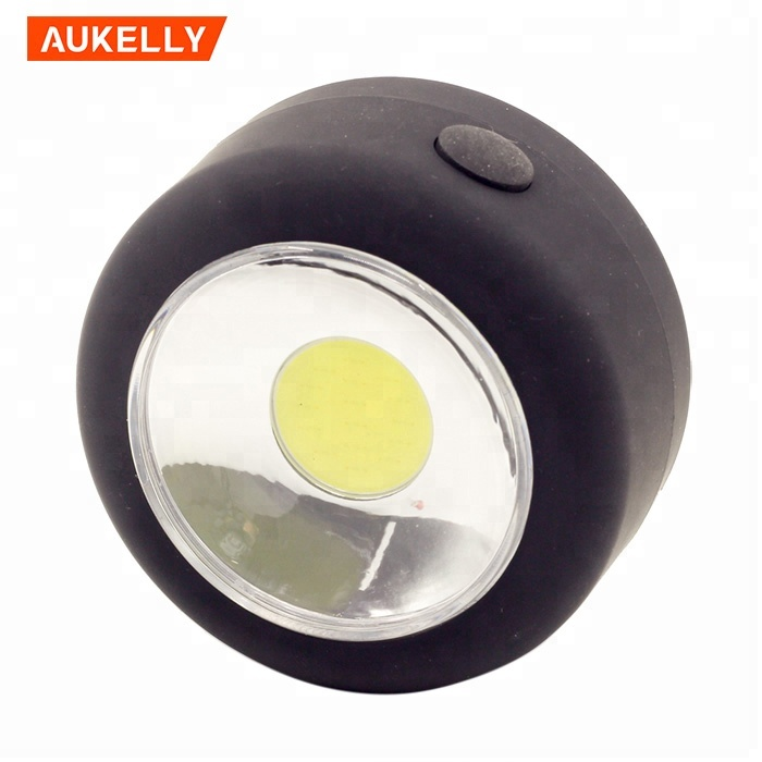 Round 3W COB Magnetic working light with Integral Hanging Hook