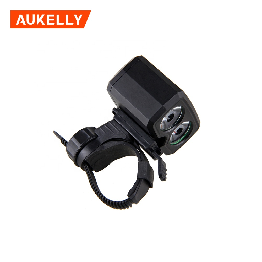 LED Front Handlebar Bike Light Rechargeable Hea...