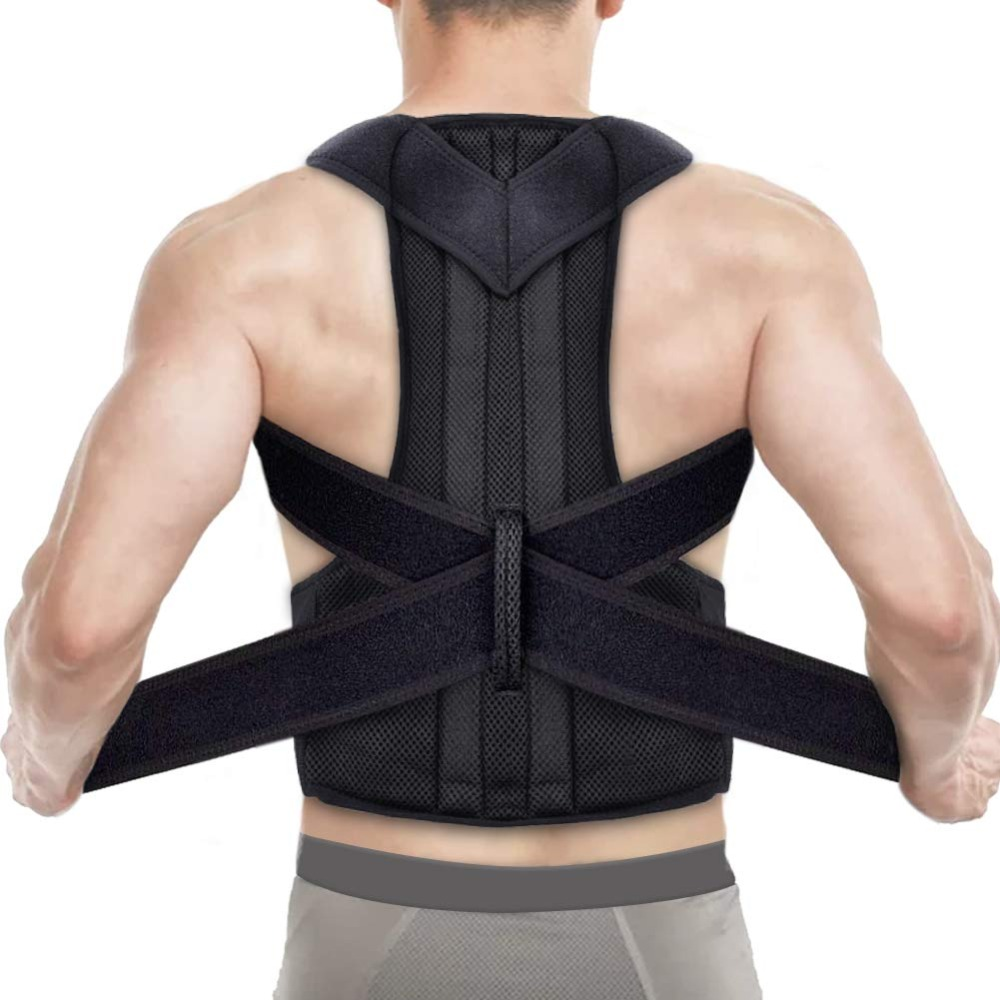 Back Belt Support Brace Prevent Humpback Adjustable Support Posture Corrector PC-04