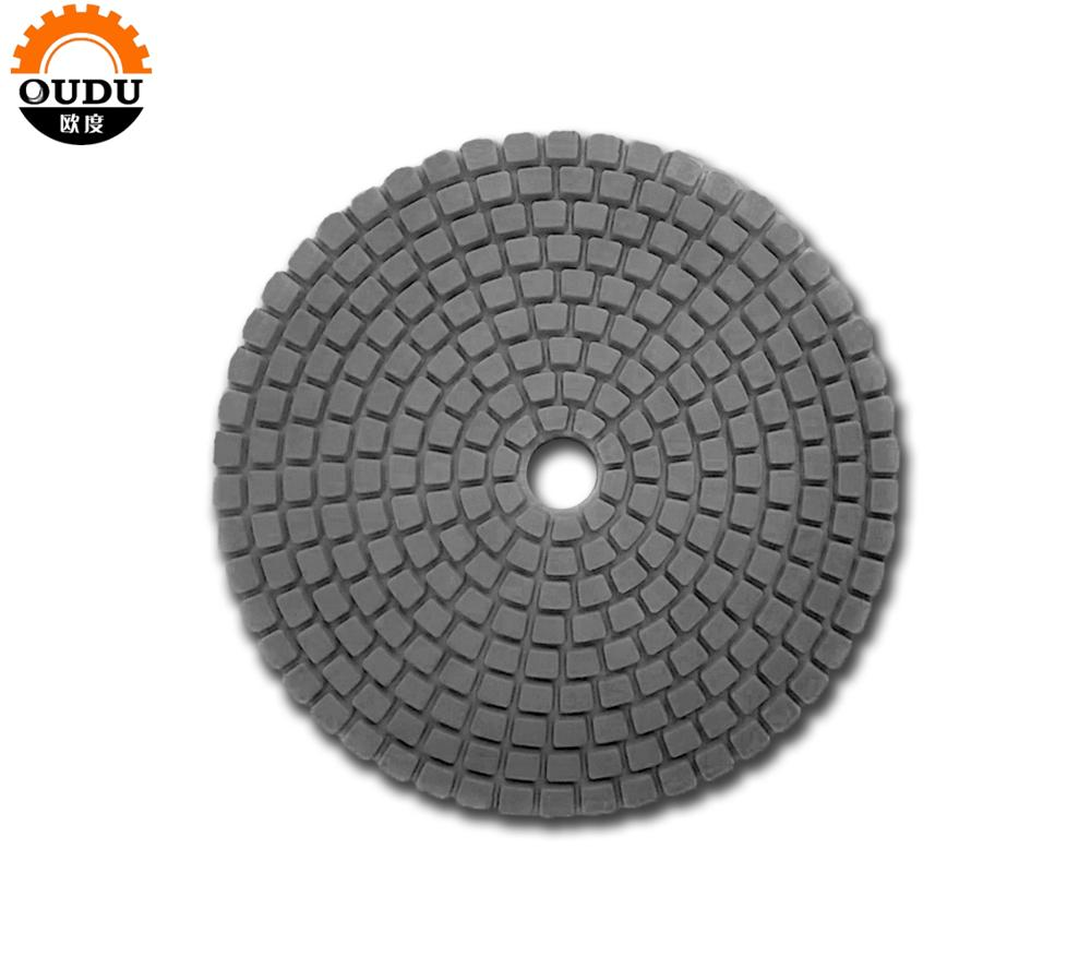 6 inch diameter 150mm  flexible polishing pad wet and dry use