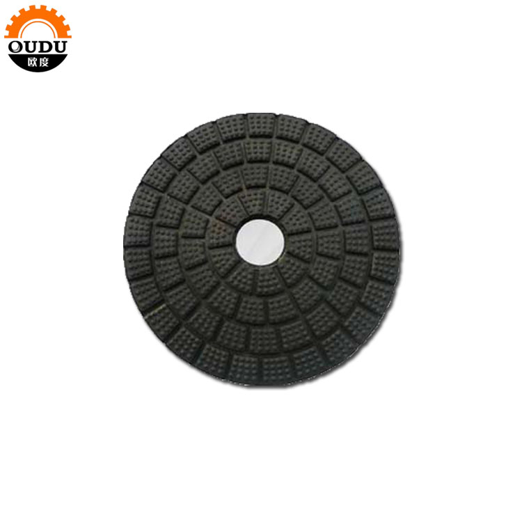 4 inch abrasive wet used polishing buff pads for stone