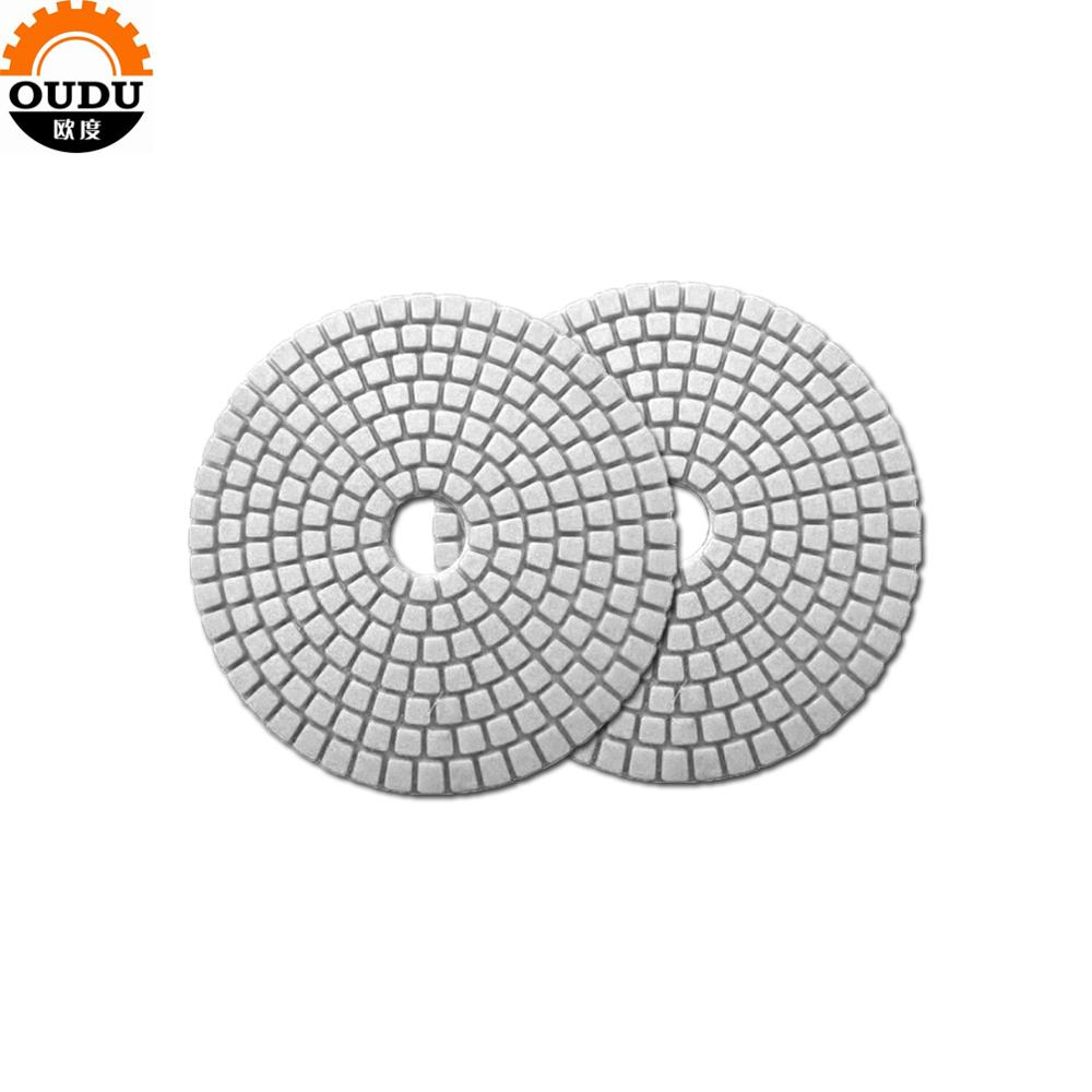 diamond abrasive fibre disc polishing pad