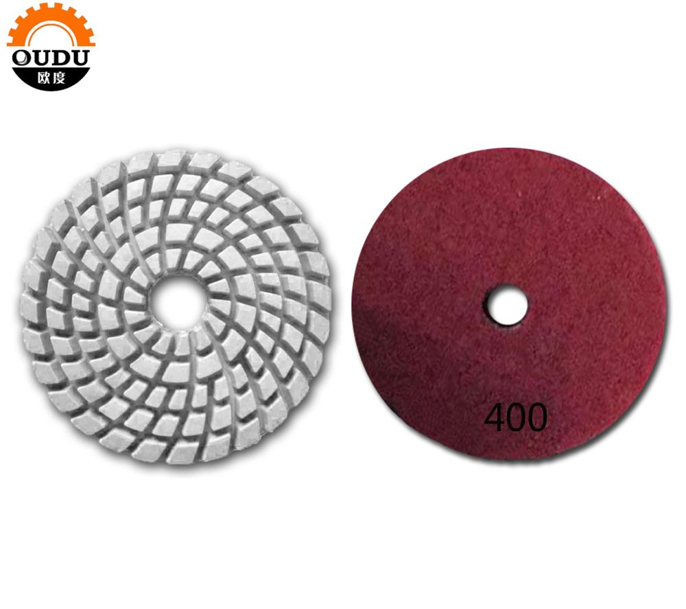 150 mm Wet Polishing Pads Abrasive Tools
