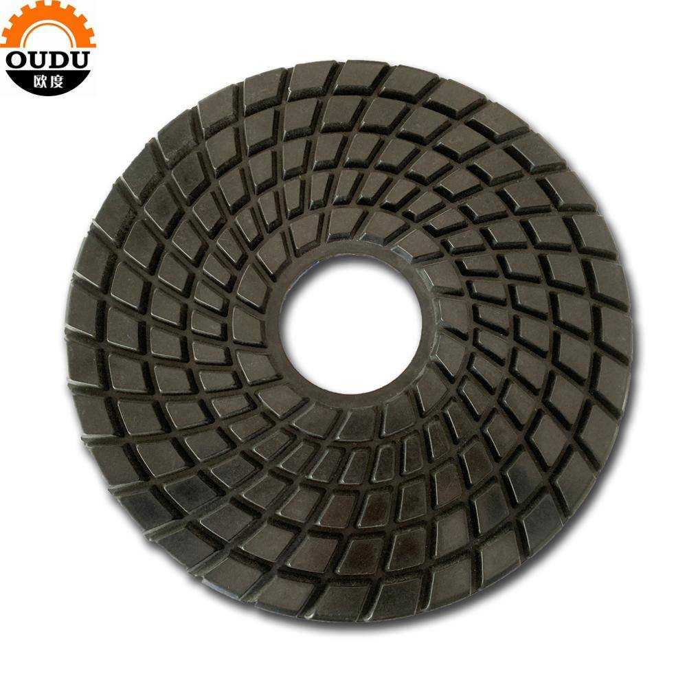 Standard huge size 12 inch 300 diameter diamond stone polishing pad wet use polishing