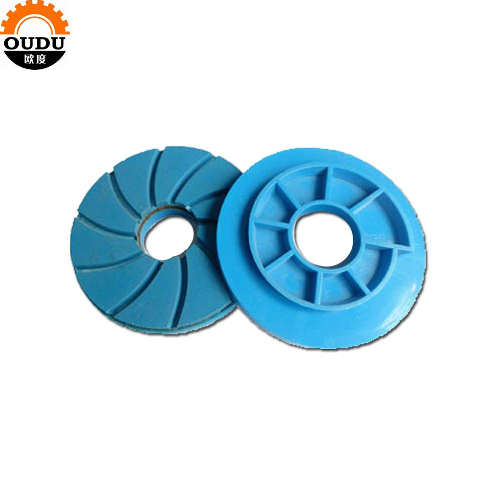 6 inch 150mm Snail Lock Diamond Edge Polishing Pads for Stone Polishing