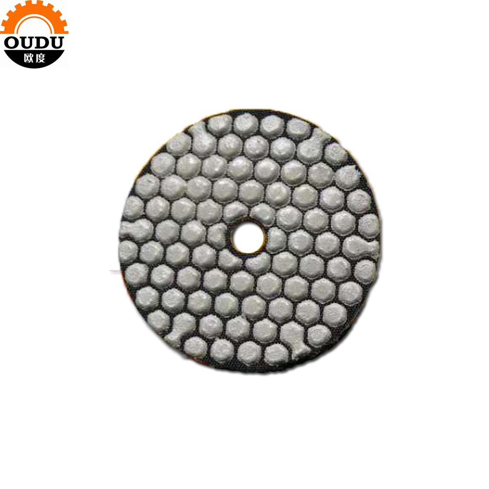 diamond dry polishing pad for marble granite wall polishing