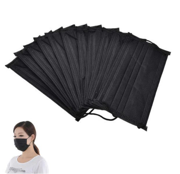 Black Face Mask Disposable