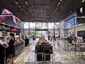 Warmly congratulate the opening of YSL flagship store in Tianhuan, Guangzhou.