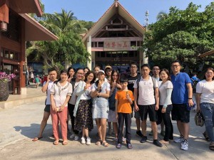 We did have a wonderful and unforgettable company travel and team building experiences in Sanya city, Hainan province at the end of July, 2019.